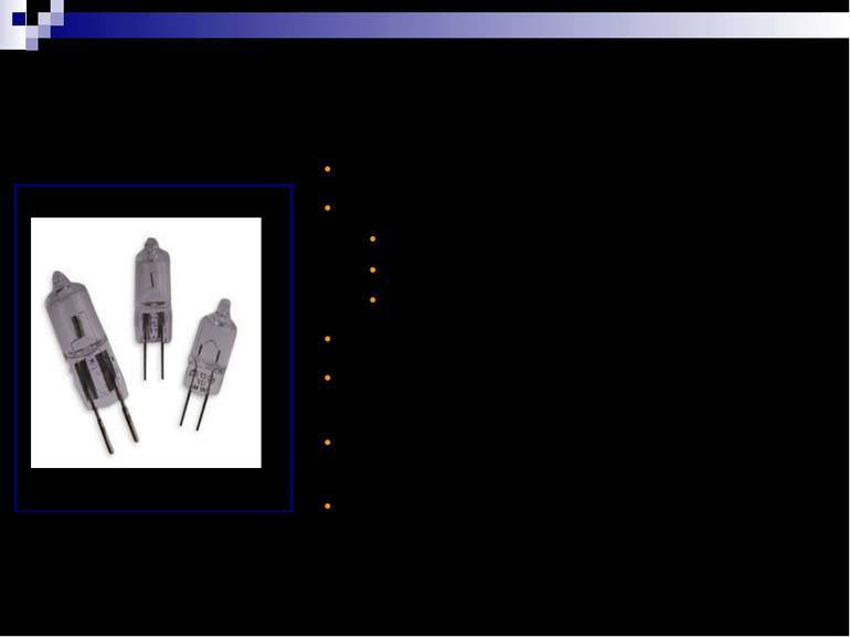 SEQ (Single Ended Quartz) Капсули Яскраве біле світло для створення світлових...