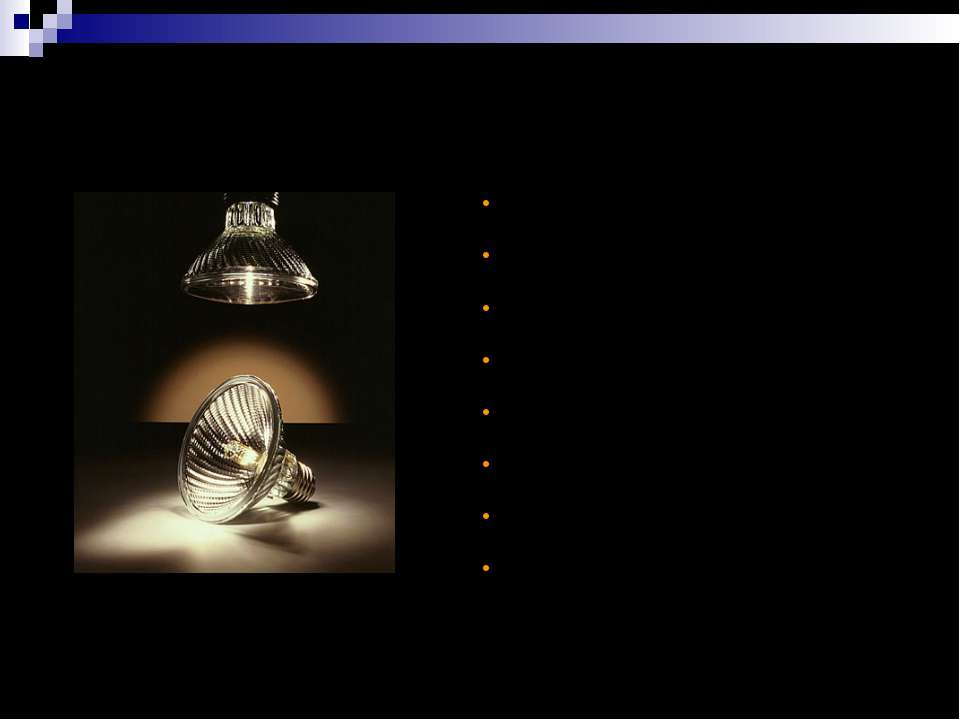 PAR 16/20/25/30 Tech Заміна дзеркальних ЛР Напруга мережі Економія електроене...