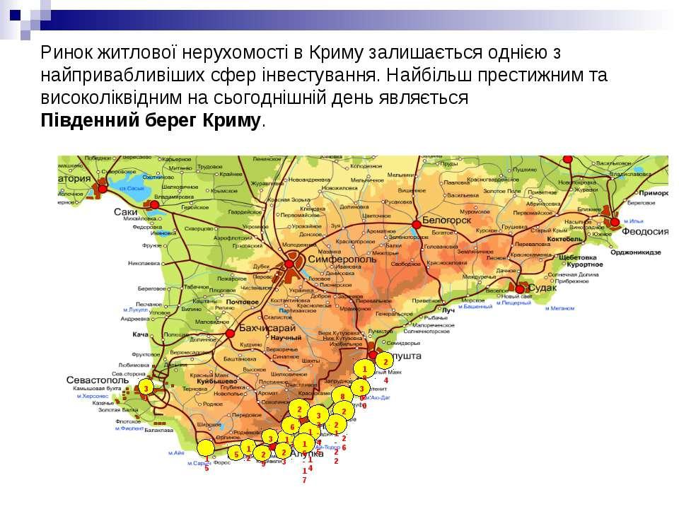 Ринок житлової нерухомості в Криму залишається однією з найпривабливіших сфер...
