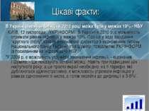 Цікаві факти: В Україні рівень інфляції в 2010 році може бути у межах 10% - Н...