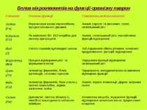 Вплив мікроелементів на функції організму тварин Елемент Основні функції Симп...
