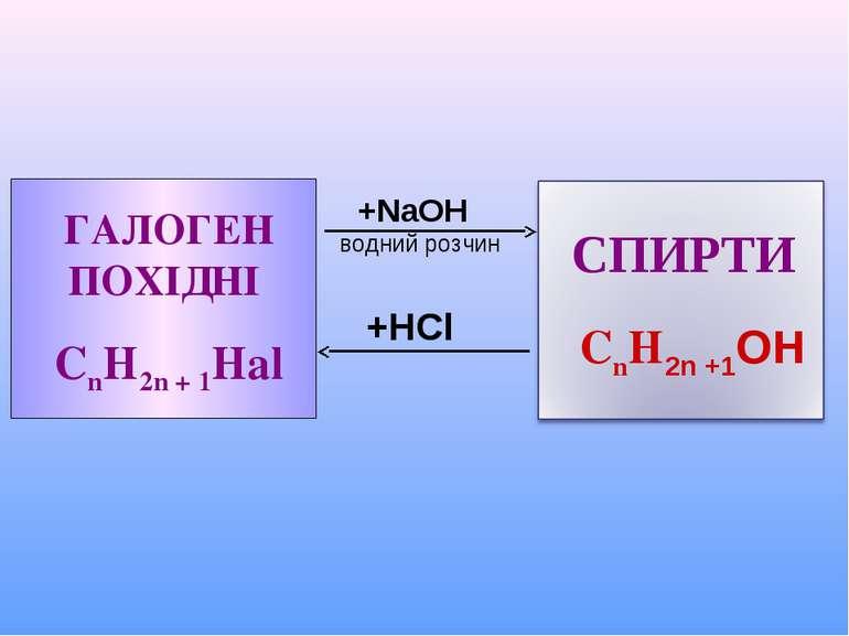 +HCl +NaOH водний розчин