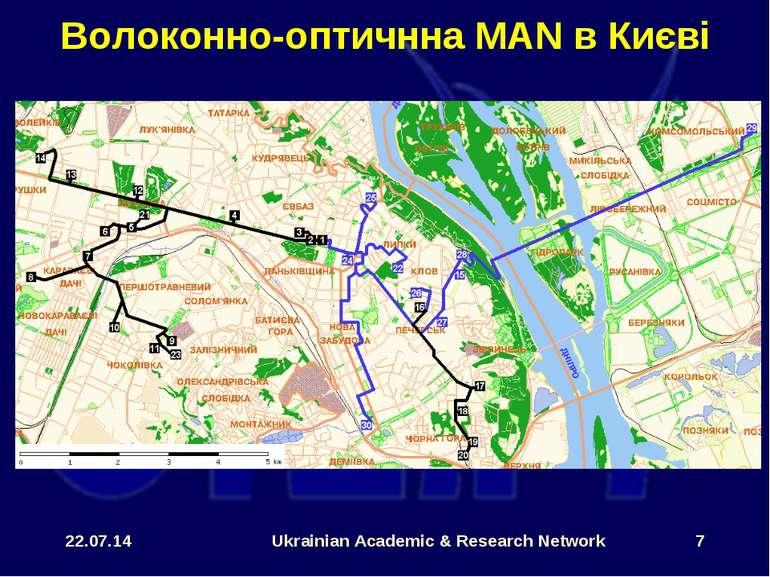 * Ukrainian Academic & Research Network * Волоконно-оптичнна MAN в Києві Ukra...