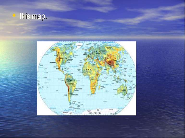 It is map.