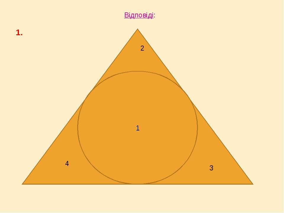 Відповіді: 1. 12 1 2 3 4 1