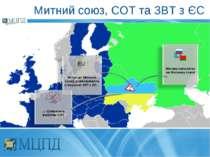 Митний союз, СОТ та ЗВТ з ЄС
