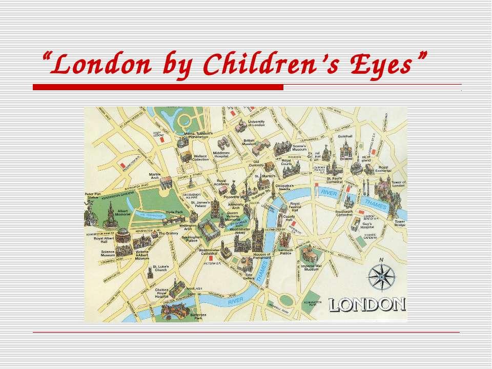 """London by Children's Eyes"""