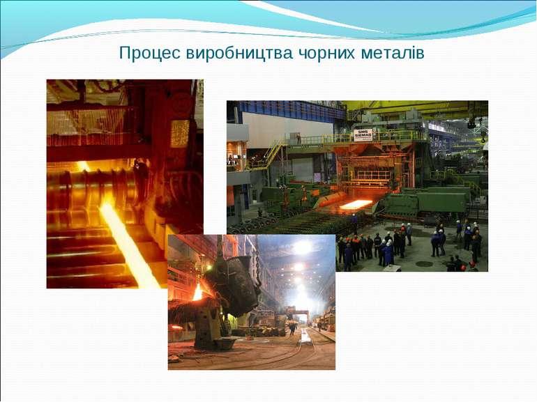 Процес виробництва чорних металів