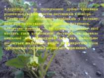 4.Аерозолі — це суспензовані дрібні краплини рідини або твердих часток пестиц...