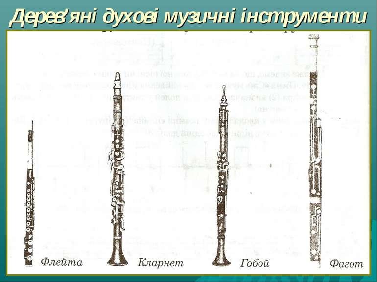 Дерев'яні духові музичні інструменти
