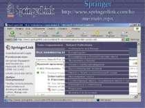 Springer http://www.springerlink.com/home/main.mpx