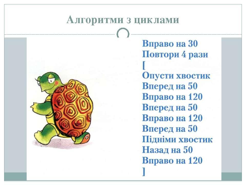 Алгоритми з циклами