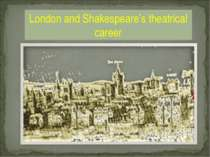 London and Shakespeare's theatrical career