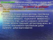 Дієприслівник - це незмінювана дієслівна форма, яка, пояснюючи головне дієсло...
