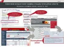 Ефективне використання трафіку у пошуку потенційних клієнтів Формування потен...