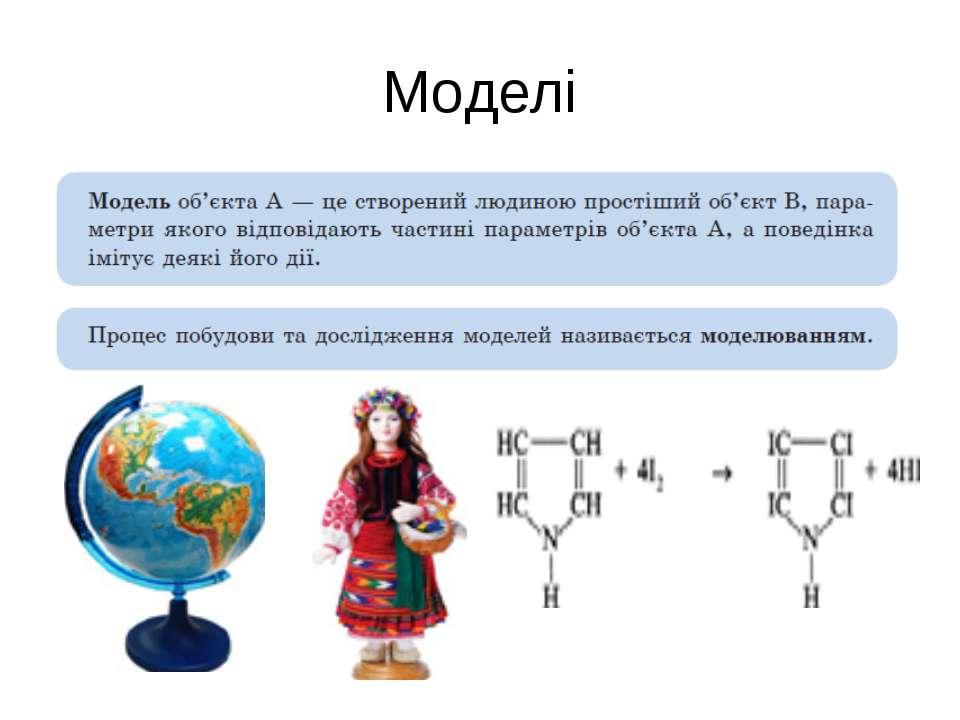 Моделі