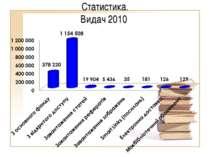 Статистика. Видач 2010