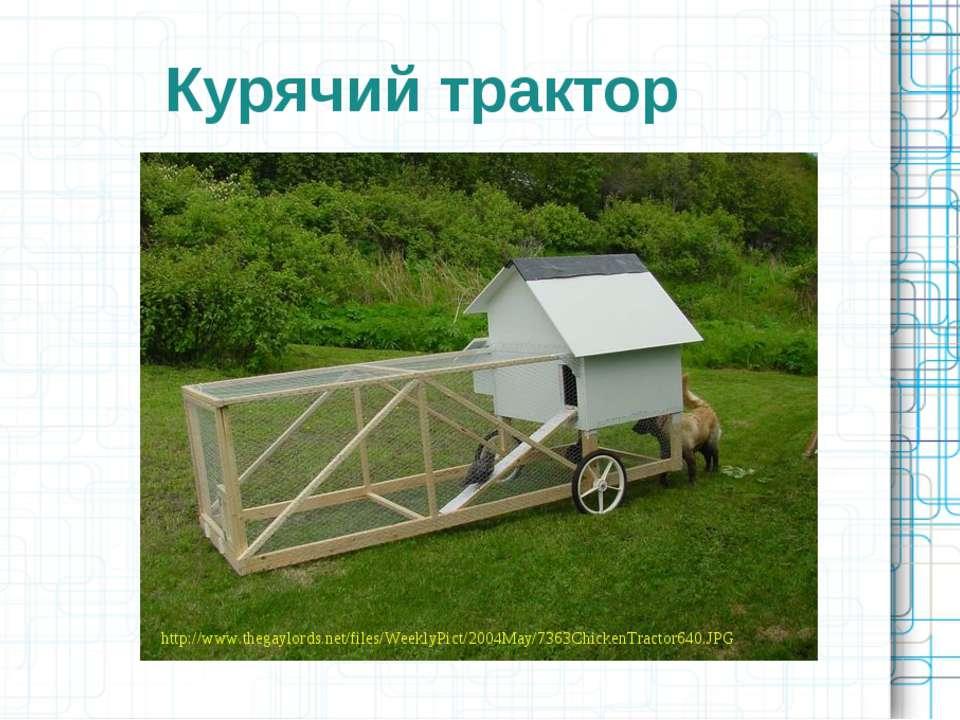 Курячий трактор http://www.thegaylords.net/files/WeeklyPict/2004May/7363Chick...