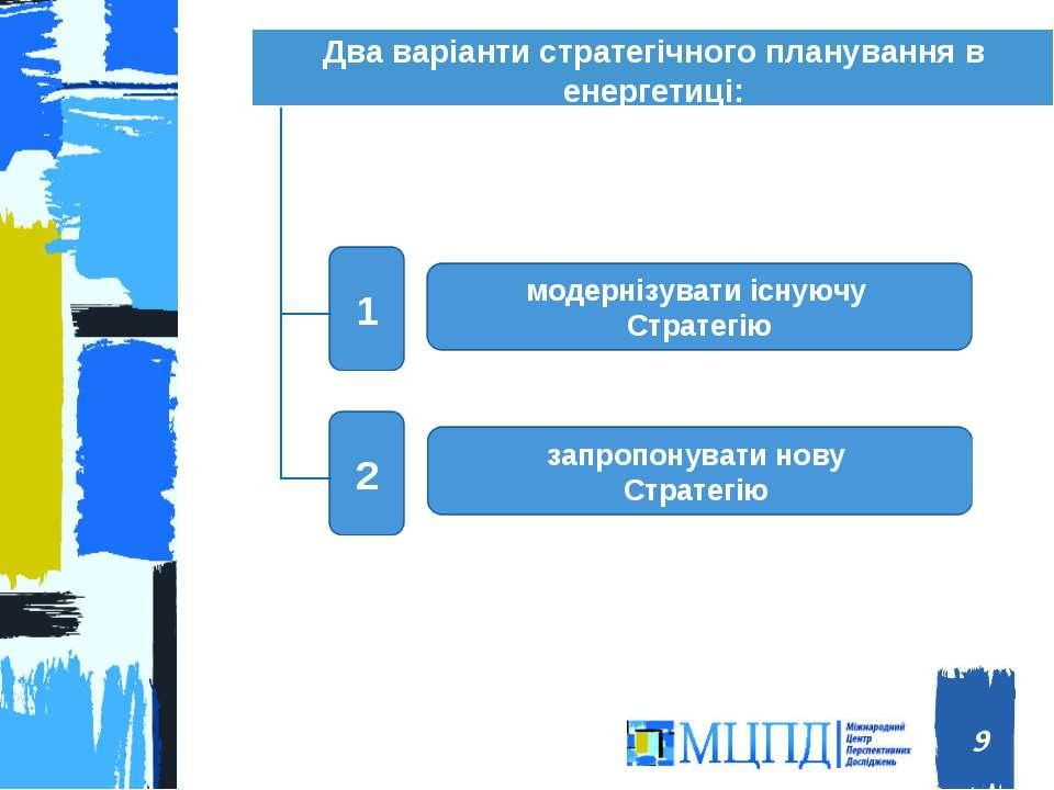 Два варіанти стратегічного планування в енергетиці: * Міжнародний центр персп...