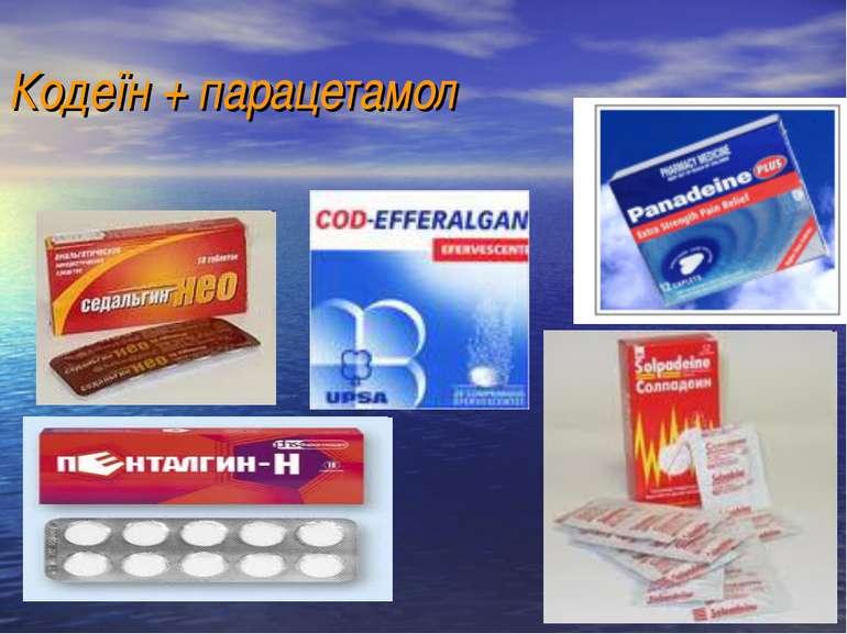Кодеїн + парацетамол