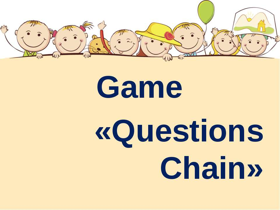 Game «Questions Chain»