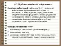 11.5. Проблема зовнішньої заборгованості Зовнішня заборгованість (external de...