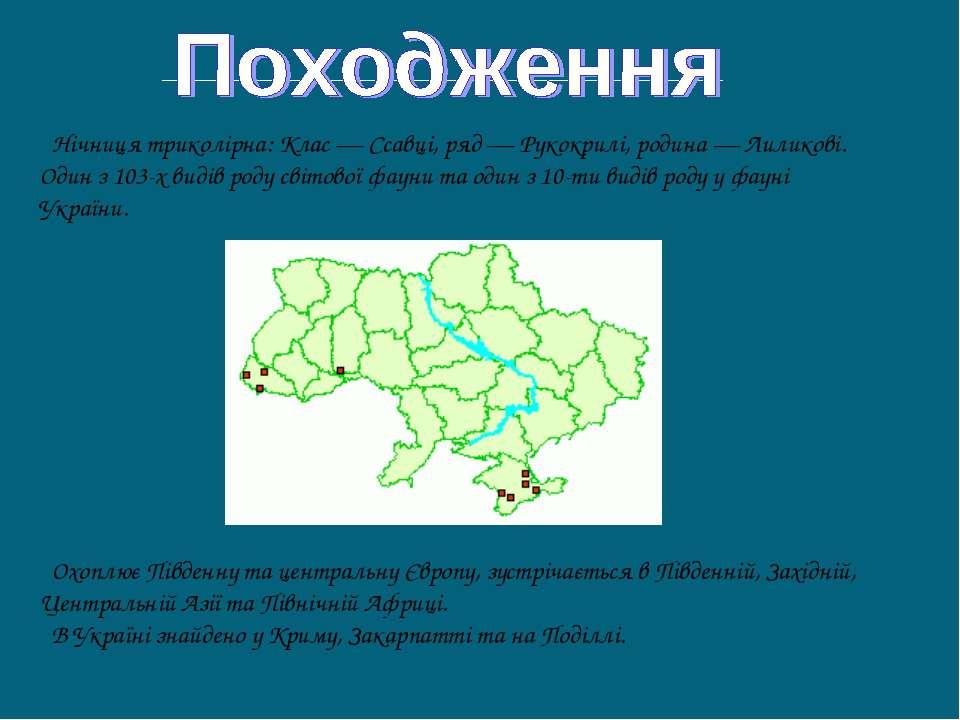 Охоплює Південну та центральну Європу, зустрічається в Південній, Західній, Ц...