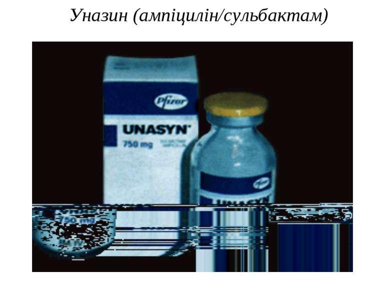 Уназин (ампіцилін/сульбактам)