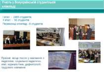 Участь у Всеукраїнській студентській олімпіаді Призові місця посіли у змаганн...