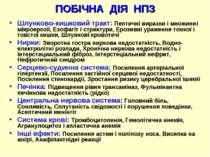 ПОБІЧНА ДІЯ НПЗ Шлунково-кишковий тракт: Пептичні виразки і множинні мікроеро...