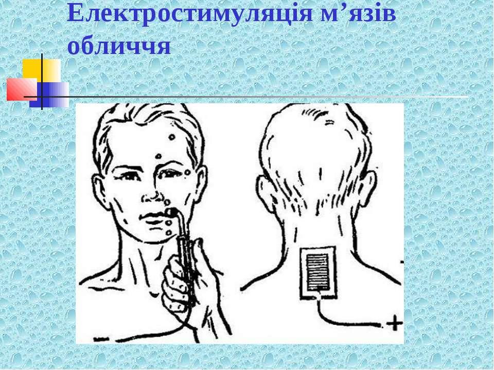 Електростимуляція м'язів обличчя
