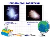 Неправильні галактики Неправильна галактика NGC1313 Мала Магелланова Хмара