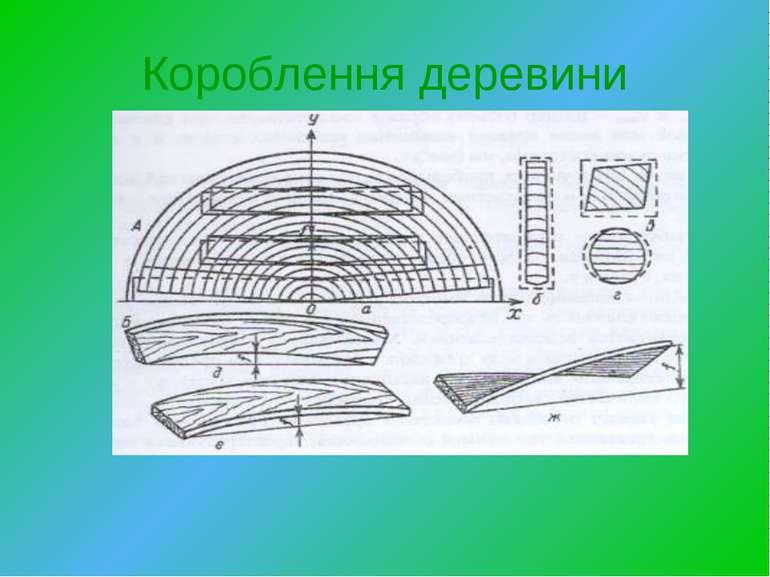 Короблення деревини