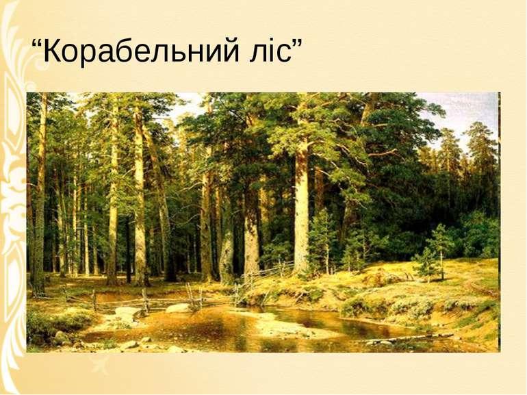 """""""Корабельний ліс"""""""