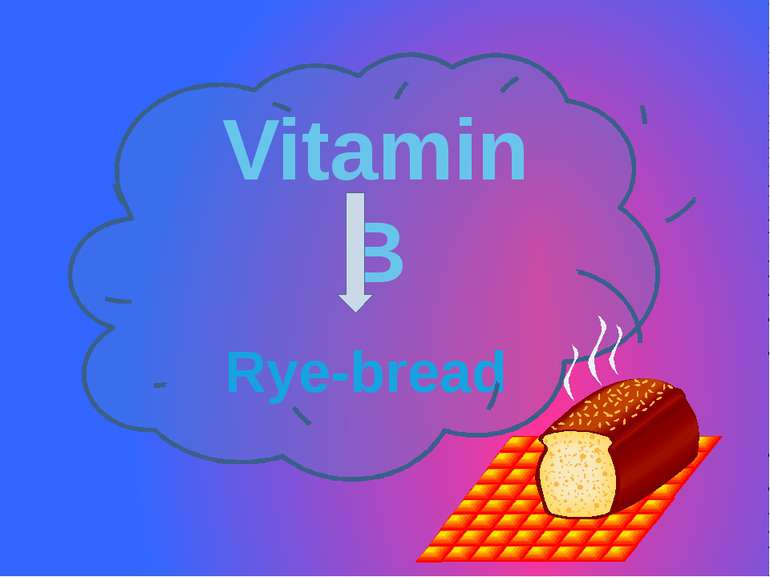 Vitamin B Rye-bread