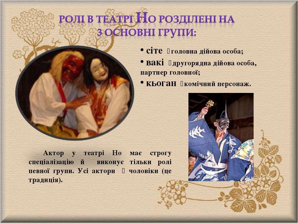 сіте головна дійова особа; вакі другорядна дійова особа, партнер головної; кь...