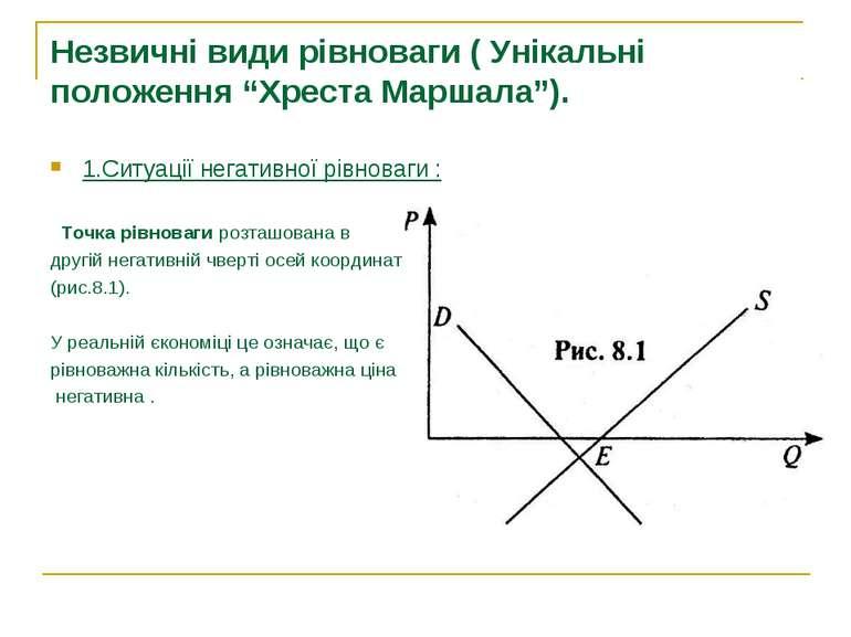 """Незвичні види рівноваги ( Унікальні положення """"Хреста Маршала""""). 1.Ситуації н..."""