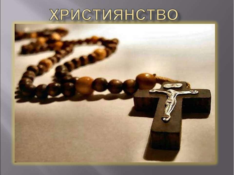 християнство