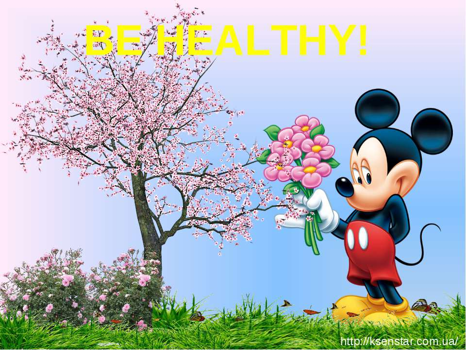 BE HEALTHY! http://ksenstar.com.ua/