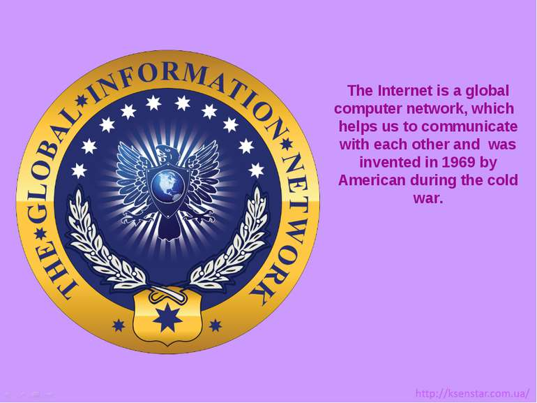 The Internet is a global computer network, which helps us to communicate with...
