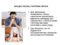 Для зменшення неприємного запаху харкотиння призначають вдихання скипидару аб...
