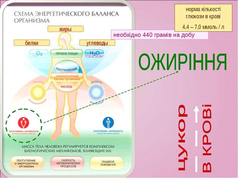 белки углеводы жиры необхідно 440 грамів на добу норма кількості глюкози в кр...