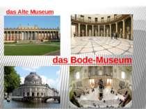 das Alte Museum das Bode-Museum
