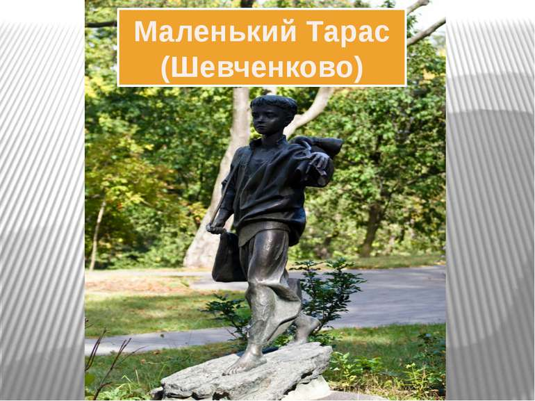 Маленький Тарас (Шевченково)