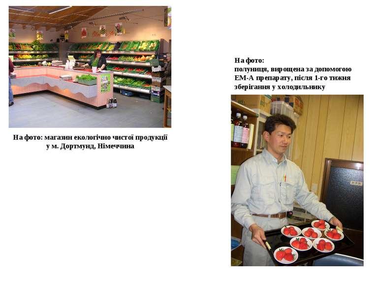 На фото: магазин екологічно чистої продукції у м. Дортмунд, Німеччина На фото...