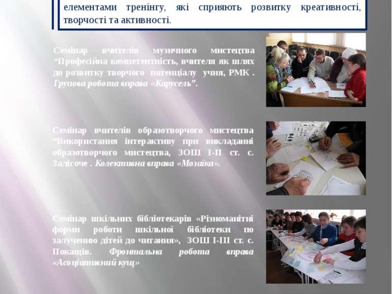 Впровадження активних форм навчання Підвищенню ефективності організації науко...
