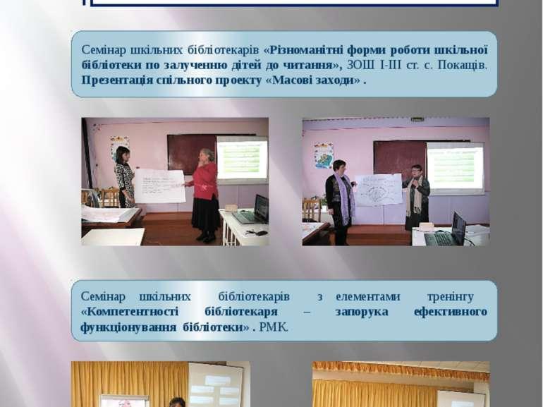 Використання ІКТ Використання ІКТ у проведенні семінарів сприяє розвитку інфо...
