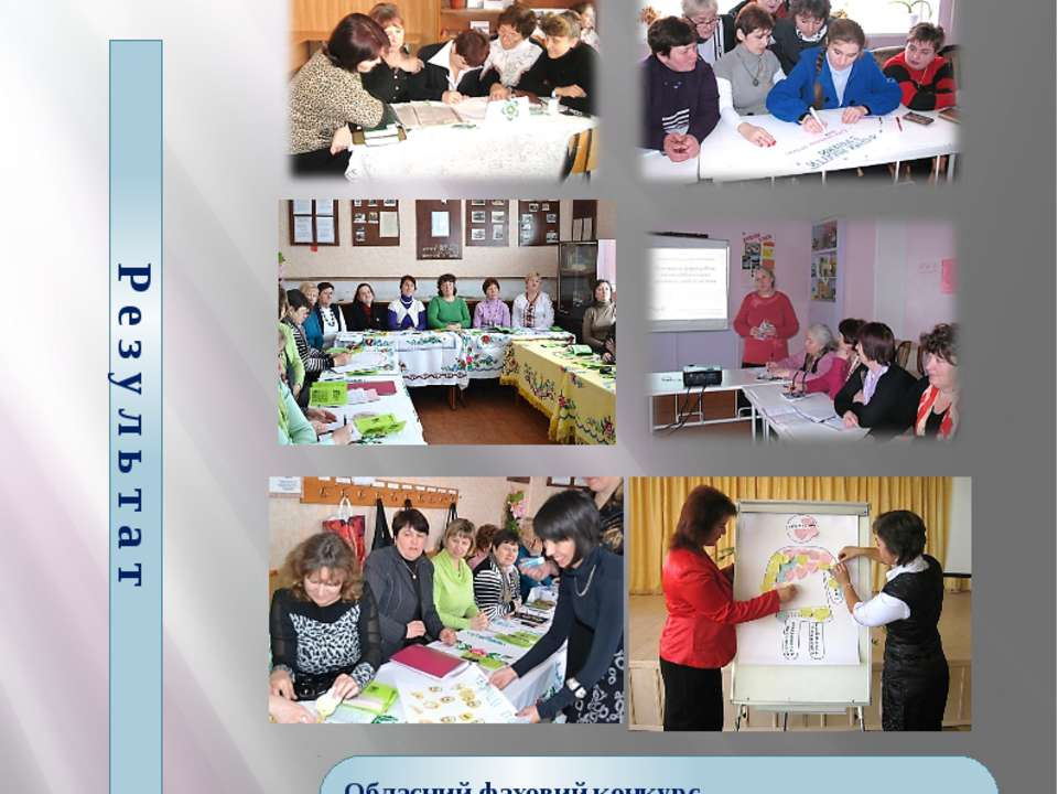 Підвищення професійної компетентності шкільних бібліотекарів району Р е з у л...