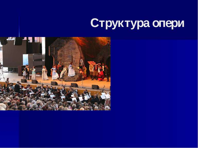 Структура опери