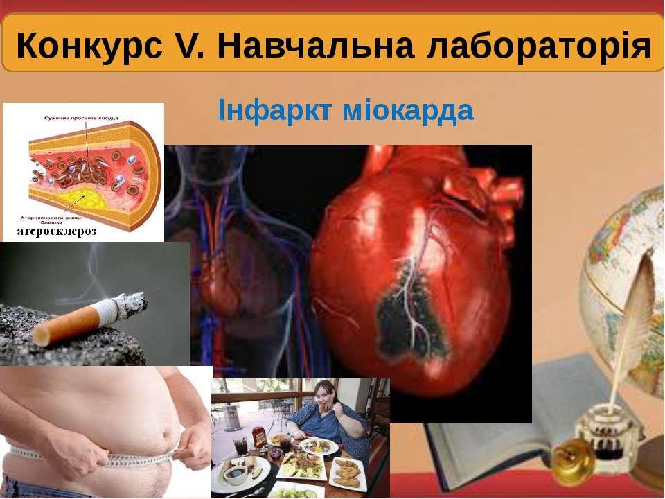 Конкурс V. Навчальна лабораторія Інфаркт міокарда